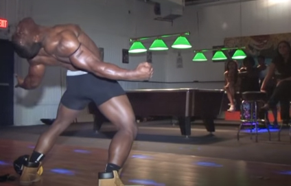 black male strippers london dance moves